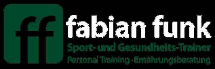 fabian funk - Sport- und Gesundheits-Trainer - Personal Training - Ernährungsberatung